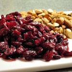 Dried Cranberries and Almonds