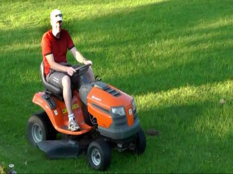 Ride On Lawn Mower Enjoy Life