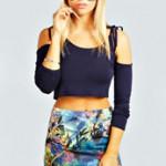 Mini Bodycon Skirt from boohoo