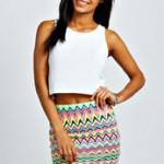 Mini Bodycon Skirt from boohoo2