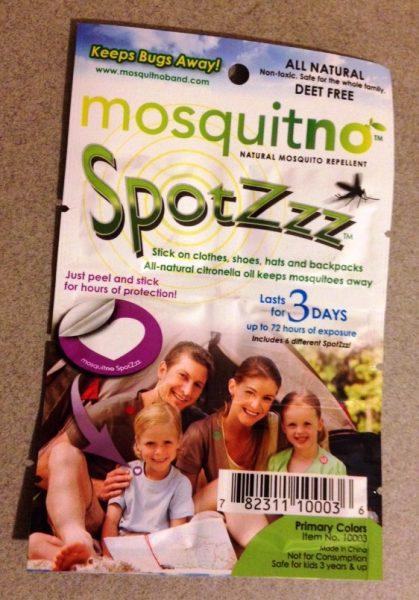 Mosquitno Spotz on Enjoy Life