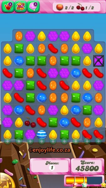 Candy Crush Game Addiction on EnjoyLife
