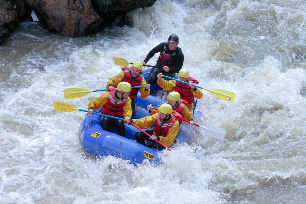 White Water Rafting on EnjoyLife.co.za