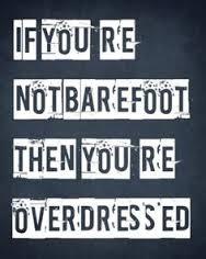 Go Barefoot on EnjoyLife.co.za (pic from pinterest)