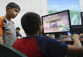 Children being influenced by tv and games