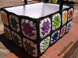 Crochet with used plastic bags (2)