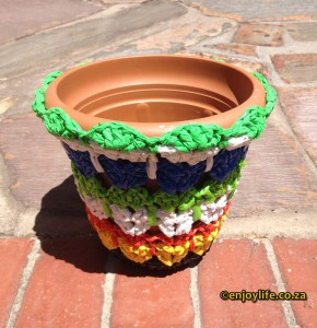 Crochet with used plastic bags (3)