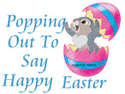 Popping to say Happy Easter