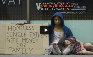 Homeless Father