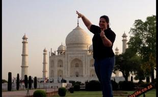 Visting the Taj Mahal