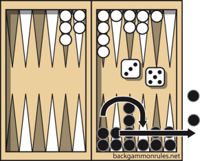 backgammon beraring off