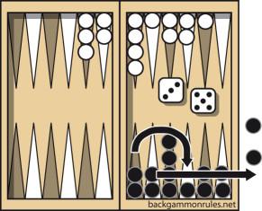 backgammon beraring off