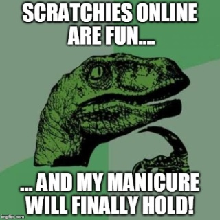 funny meme about scratch cards online