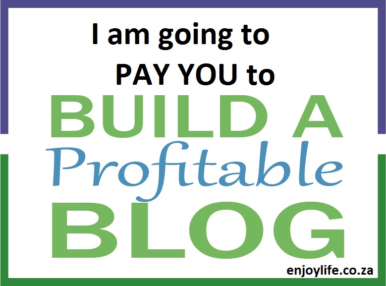 Pay you to Build a Blog