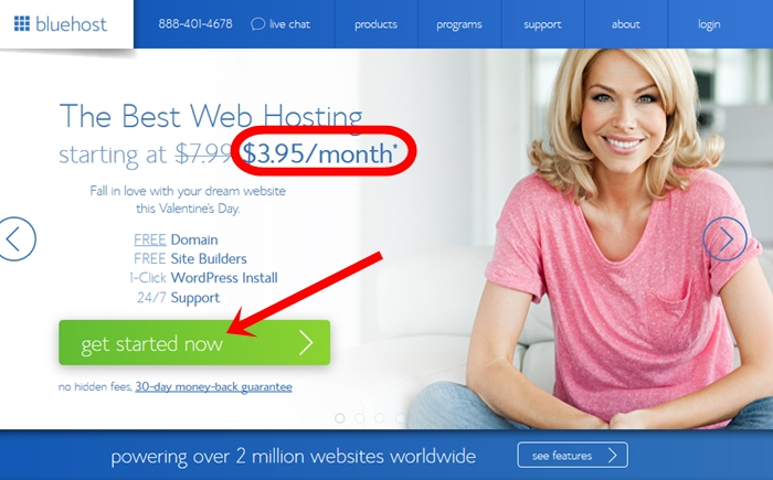 Webhost start