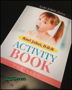 Dental Activity Book Cover