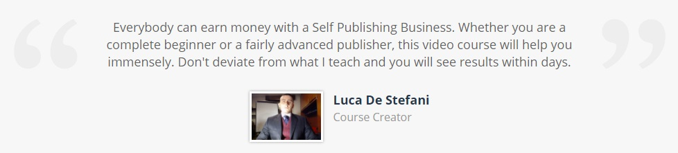 click here to make money with self publishing book